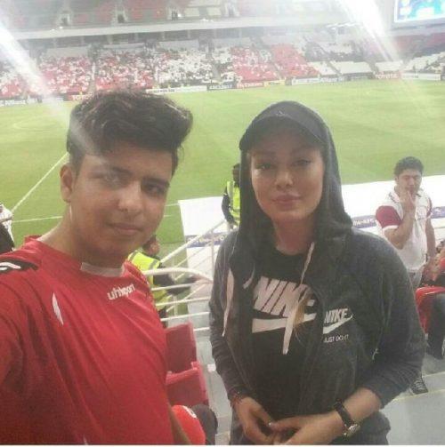 بازیگر پرحاشیه در استادیوم بن زاید امارات