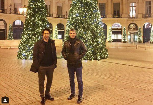برادران مجیدی در جشن کریسمس