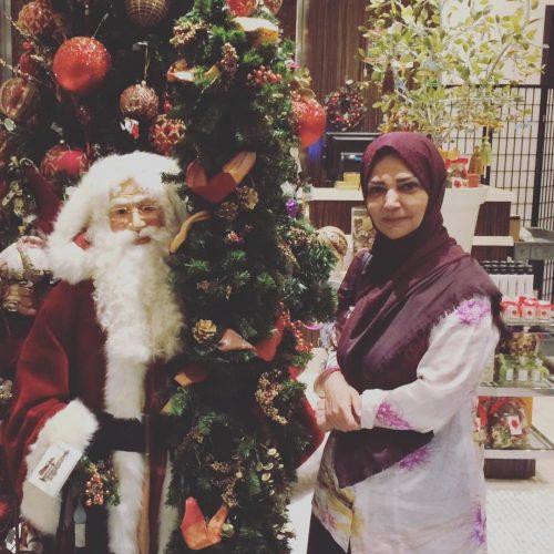 الهه رضایی و جشن کریسمس