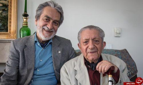 خاطرات شب یلدای مجید انتظامی در کنار پدرش