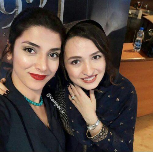 گلاره عباسی در کنار بازیگر هندی