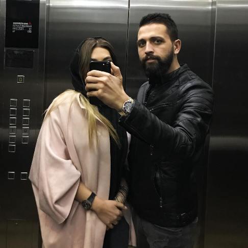 تصاویر تازه منتشر شده از محسن افشانی و همسرش