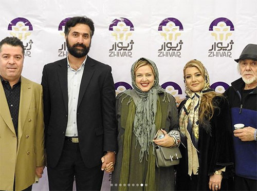 عکس بازیگران,عکس جدید بازیگران,عکس جدید بهاره رهنما و همسرش,عکس بازیگران 96