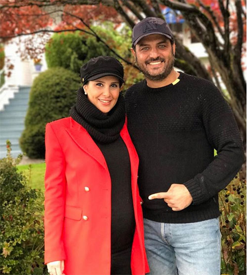 عکس بازیگران,عکس جدید بازیگران,عکس جدید سام درخشانی و همسرش,عکس بازیگران 96