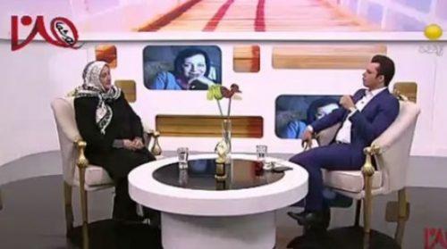 مصاحبه مریم امیرجلالی در یک برنامه تلویزیونی