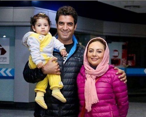 تازه ترین عکس از یکتا ناصر در کنار همسرش