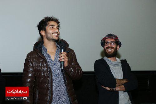 هنرمندان فیلم پل خواب در پردیس کوروش