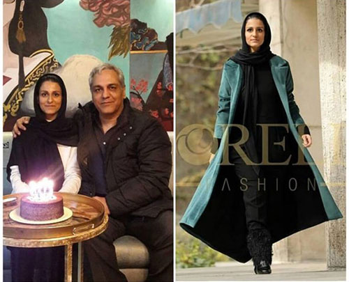 دختر مهران مدیری,دختر مهران مدیری مدل,شهرزاد مدیری