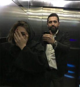 عکس محسن افشانی و همسرش,محسن افشانی و همسرش,عکس همسر محسن افشانی