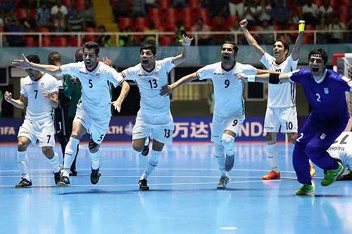 صعود فوتسال ایران,صعود تیم فوتسال ایران به نیمه نهایی,فوتسال ایران به نیمه نهایی صعود کرد