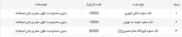 قیمت بلیت مترو تهران در سال 97,قیمت بلیط مترو تهران 97,قیمت بلیت مترو در سال 97