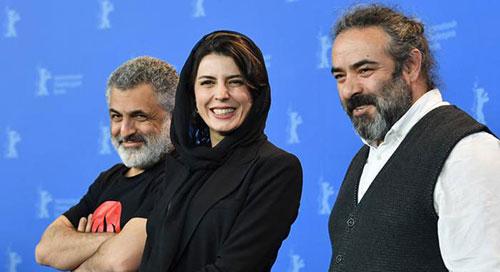 سخنان جنجالی لیلا حاتمی در برلین,سخنان لیلا حاتمی در جشنواره فیلم برلین,فیلم سخنان لیلا حاتمی در برلین