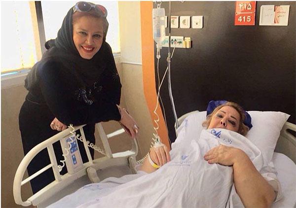 علت بستری شدن پروین قائم مقامی مادر بهاره رهنما در بیمارستان