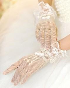 خاص ترین مدل دستکش های عروس سال 95