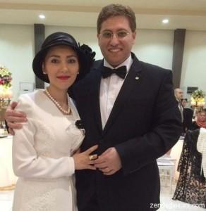 عکس متفاوت از مهسا کرامتی در عروسی برادرش