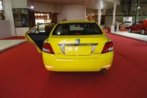 تصویر تاکسی جدید که وارد ناوگان حمل و نقل خواهد شد