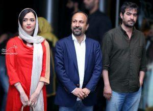 ماجرای بدحجابی ترانه علیدوستی در نشست خبری فیلم فروشنده