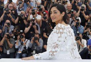 لباس زیبای گلشیفته فرهانی در جشنواره کن 2016