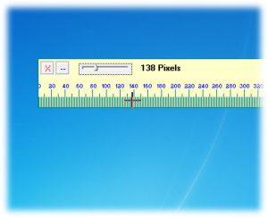 آموزش اندازه گیری پنجره ها با خط کش مانیتور