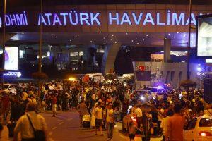 انفجار در فرودگاه آتاتورک استانبول 50 نفر کشته داد!