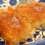 دستور پخت کنافه یک باقلوا مخصوص ماه رمضان