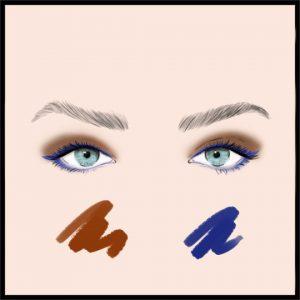 زیباترین رنگ ها و ترکیب رنگ ها برای سایه چشم