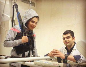 آخرین وضعیت جسمانی سارا عبدلملکی در سال 95
