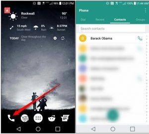 روش تغییر دادن عکس مخاطبان گوشی های اندروید