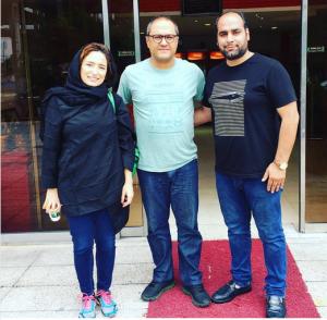 حضور مجری تلویزیونی در مازندران