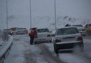 آخرین وضعیت جاده چالوس,محدودیت ترافیکی جاده چالوس,وضعیت جاده چالوس تا آخر هفته