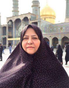 رابعه اسکویی,بازگشت رابعه اسکویی به ایران,رابعه اسکویی دلم زیارت خواست