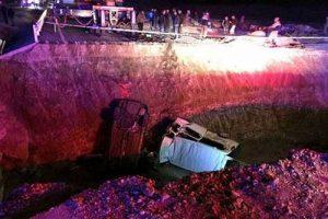 سقوط خودرو گردشگران ایرانی,مرگ 5 ایرانی در ترکیه,سقوط خودرو گردشگران ایرانی در استان بایبورت