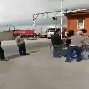 فیلم ضرب و شتم راننده ایرانی توسط مرزبانان ترکیه