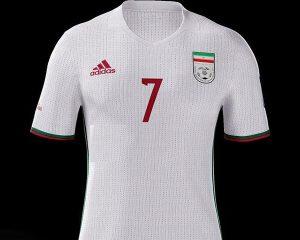 پیراهن تیم ملی در جام جهانی روسیه,پیراهن تیم ملی در جام جهانی 2018,عکس پیراهن تیم ملی