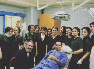 جزئیات علت بستری حسین رفیعی در بیمارستان و عمل جراحی او