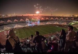 بازی ایران پرتغال ورزشگاه آزادی