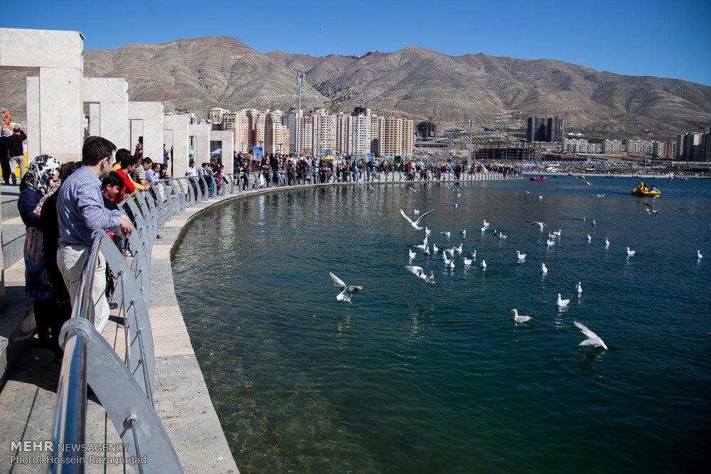 وضعیت آب دریاچه چیتگر چطور است,آیا دریاچه چیتگر خشک می شود,آب دریاچه چیتگر
