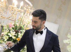 مراسم ازدواج کاوه رضایی و فرنوش شیخی,عکس عروسی کاوه رضایی,کاوه رضایی و همسرش